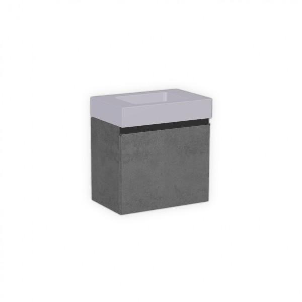 Unterschrank für Gravelli SLANT 06 MINI, Breite 52 cm